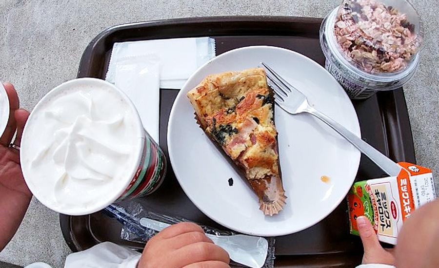 スターバックス奈良鴻池運動公園前店、幼児と食べたメニュー