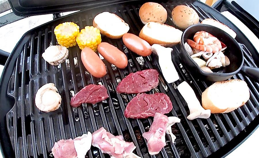 ザランタンのボリュームたっぷりな夕食BBQ2